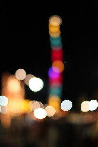 One stack of bokeh