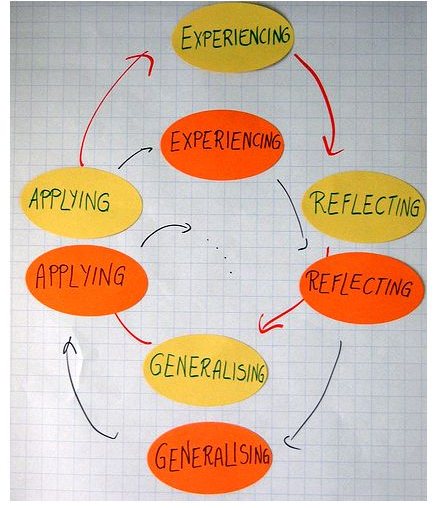David A. Kolb's model of experiential learning